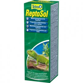 Tetra (Тетра) REPTOSOL (КОРМОВАЯ ДОБАВКА) раствор для черепах и рептилий, 50 мл