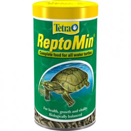 Tetra (Тетра) REPTOMIN (РЕПТОМИН ВОДНЫЕ ЧЕРЕПАХИ ГРАНУЛЫ) корм для черепах