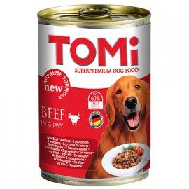 TOMi Beef консервы для собак - кусочки говядины в соусе