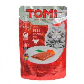 Tomi (Томи) BEEFIN CARROT JELLY (ГОВЯДИНА В МОРКОВНОМ ЖЕЛЕ) консервы для кошек, пауч