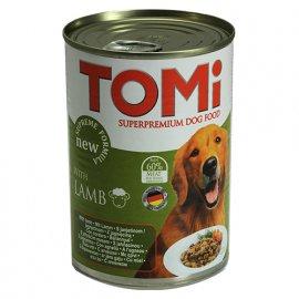 TOMi Lamb консервы для собак - кусочки в соусе, ягненок в соусе