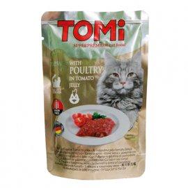Tomi (Томи) POULTRY IN TOMATO JELLY (ПТИЦА В ТОМАТНОМ ЖЕЛЕ) консервы для кошек, пауч