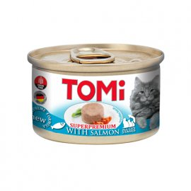 Tomi SALMON консервы для кошек, мусс ЛОСОСЬ