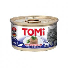 Tomi TUNA консервы для кошек, мусс ТУНЕЦ