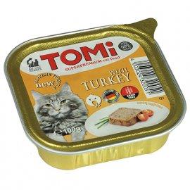 TOMi Turkey консервы для кошек - паштет, ИНДЕЙКА