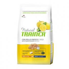 Trainer Natural Adult Mini - корм для взрослых собак мелких пород с курицей, рисом и алоэ-вера