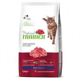 Trainer Natural ADULT With Beef - корм для кошек с говядиной