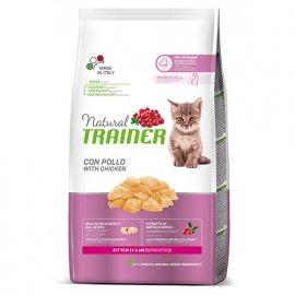 Trainer Natural KITTEN With Fresh Chicken корм для котят до 6 месяцев, для беременных и кормящих кошек с курицей