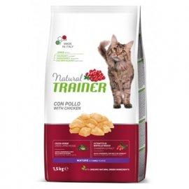 Trainer Natural MATURE With Fresh Chicken - Сухой корм для зрелых кошек в возрасте от 7 лет со свежей курицей