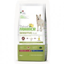 Trainer Natural Sensitive Plus Adult Medium&Maxi With Horse - корм для взрослых собак средних и крупных пород с Кониной
