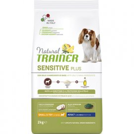 Trainer Natural Sensitive Plus Adult Mini Horse - корм для взрослых собак мелких пород с Кониной