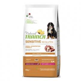 Trainer Natural Sensitive Puppy&Junior Medium&Maxi - корм для щенков средних и крупных пород УТКА