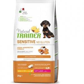 Trainer Natural Sensitive Puppy&Junior Mini With Salmon - корм для щенков мелких пород с Лососем