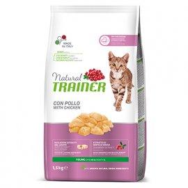 Trainer Natural YOUNG CAT With Fresh Chicken - Сухой корм для молодых кошек в возрасте 7-12 месяцев со свежей курицей