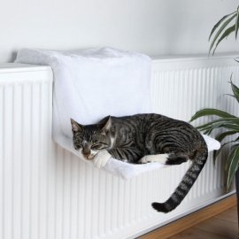 Trixie Гамак на батарею для кошек белый (4321)