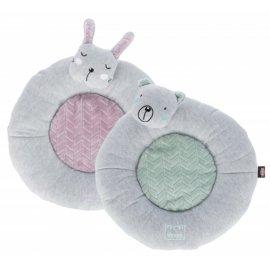 Trixie Junior Lying Mat плюшевый лежак-подушка для щенков, диаметр 40 см
