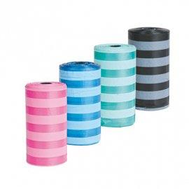 Trixie - Сменные пластиковые пакеты для уборки отходов в полоску (1 уп. х 4 рулона) (22840)