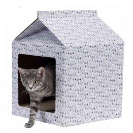 Trixie ДОМИК картонный домик - когтеточка для кошек и котят (48010)