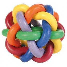 Trixie (Трикси) МЯЧ ПЛЕТЕНЫЙ игрушка для собак, резина