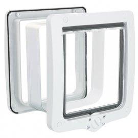 Trixie 4-WAY FLAP DOOR XXL врезная дверца для кошек с тоннелем, 4 позиции (4424)