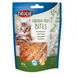 Trixie Лакомство для кошек кусочки куриного филе
