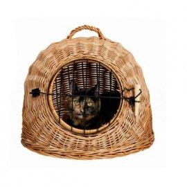 Trixie Плетеная переноска для кошек и малых пород собак