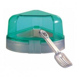 Trixie CORNER TOILET угловой туалет с лопаткой для мелких грызунов (6256)