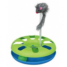 Trixie CRAZY CIRCLE игрушка-трек с мышкой для кошек, пластик (4135)
