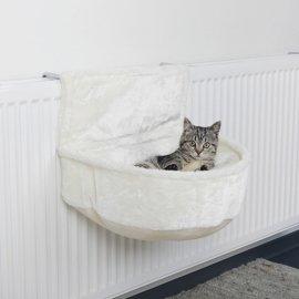Trixie (Трикси) Cuddly Bag for Radiator Мягкий гамак на батарею для кошек, белый (43140) (СКИДКА 20%)