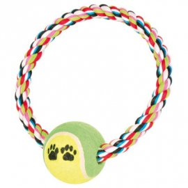 Trixie (Трикси) КАНАТ С ТЕННИСНЫМ МЯЧЕМ игрушка для собак (3266)