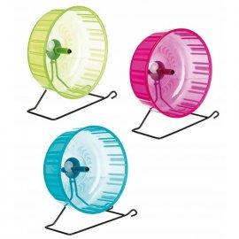 Trixie EXERCISE WHEEL игрушка для грызунов, колесо на подставке (60823)