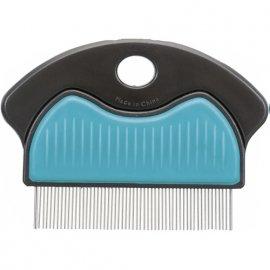 Trixie Flea and Dust Comb - Гребень металлический с пластиковой ручкой для собак и кошек (23761)