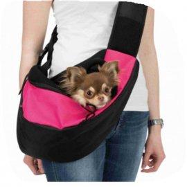 Trixie SLING FRONT CARRIER переноска - рюкзак для кошек и собак, РОЗОВАЯ (28956)