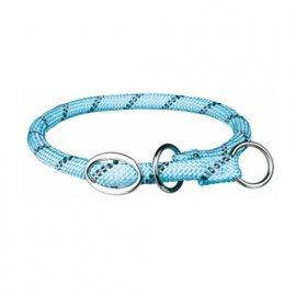 Trixie SPORTY ROPE COLLAR ошейник - удавка для собак, голубой
