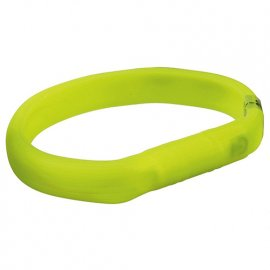 Trixie USB Flash Light Band Ошейник светящийся USB зеленый