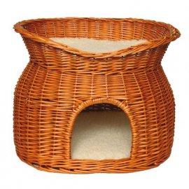 Trixie Wicker Cave - Плетеный домик для кошек коричневый (2874)