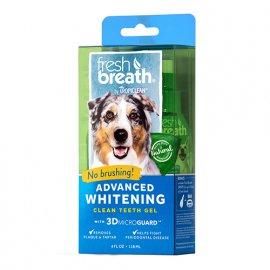 Tropiclean (Тропиклин) ADVANCED WHITENING GEL (СВЕЖЕСТЬ ЗУБОВ) отбеливающий гель для зубов собак, 118 мл