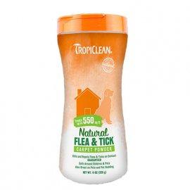 Tropiclean (Тропиклин) FLEA & TICK (ОТ БЛОХ И КЛЕЩЕЙ) пудра для ковров и мебели, 325 г