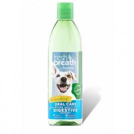 Tropiclean (Тропиклин) FRESH BREATH PLUS DIGESTIVE (СВЕЖЕЕ ДЫХАНИЕ С ПРЕБИОТИКОМ ДЛЯ ПИЩЕВАРЕНИЯ) добавка в воду для собак и кошек, 473 мл