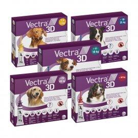Ceva (Сева) VECTRA 3D (ВЕКТРА 3D) капли от блох и клещей для собак 1 ПИПЕТКА