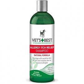 Vets Best (Ветс Бест) ALLERGY ITCH RELIEF SHAMPOO (ПРИ АЛЛЕРГИИ И ЗУДЕ) шампунь для собак 470 мл