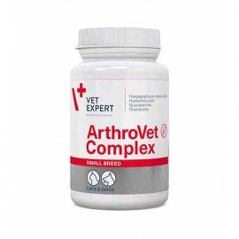 VetExpert (ВетЭксперт) ARTHROVET Complex Small breed & cat (АРТРОВЕТ) для хрящей и суставов для маленьких собак и кошек, 60 капс