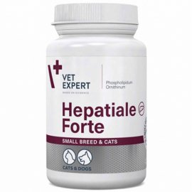 VetExpert (ВетЭксперт) HEPATIALE FORTE 170 (ГЕПАТИАЛЕ ФОРТЕ 170) гепатопротектор для кошек и собак мелких пород, 40 капс.