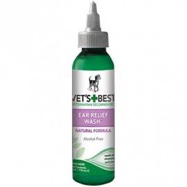 Vets Best (Ветс Бест) EAR RELIEF WASH (ЧИСТЫЕ УШИ) лосьон для чистки ушей собак