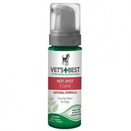 Vets Best (Ветс Бест) HOT SPOT FOAM (ПРИ РАЗДРАЖЕНИИ И ЗУДЕ) моющая пена для собак 118 мл