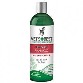 Vets Best Hot Spot Shampoo (ПРИ СИЛЬНОМ РАЗДРАЖЕНИИ И ЗУДЕ) шампунь для собак, 470 мл