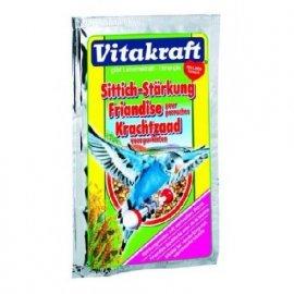 Vitakraft (Витакрафт) УКРЕПЛЕНИЕ ОРГАНИЗМА С БИОТИНОМ пищевая добавка для попугаев (21275), 30 г