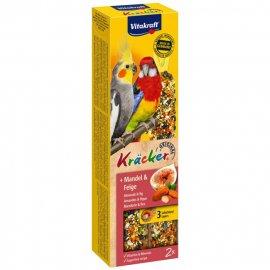 Vitakraft (Витакрафт) Крекер для австралийских попугаев МИНДАЛЬ и ИНЖИР