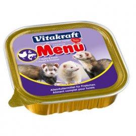 Vitakraft (Витакрафт) FERRET MENU (ФЕРРЕТ МЕНЮ) консервы для хорьков, 100 г