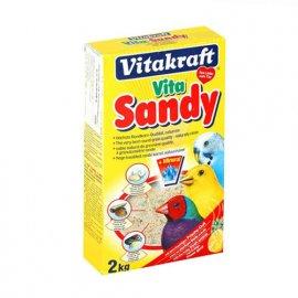 Vitakraft (Витакрафт) VITA SANDY (ВИТА САНДИ) песок для птиц с фруктовым ароматом, 2 кг